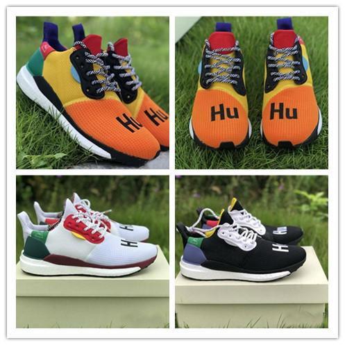 1f8621a3b 2018 New Release Pharrell Williams Solar Hu Glide Hu Trail Human Race Man  Running Shoes Sneakers