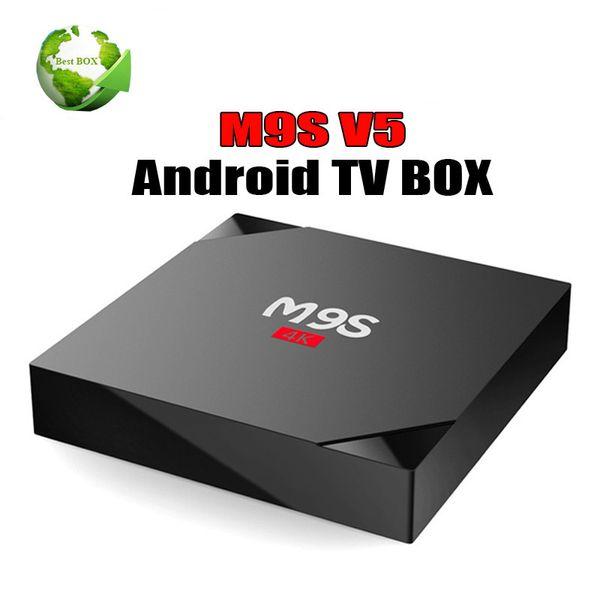 Best seller RK3229 M9S V5 Android TV Box 4K HDR H.265 HEVC play 1GB 8GB Internet TV Box Better TX3 X96 MINI S905W