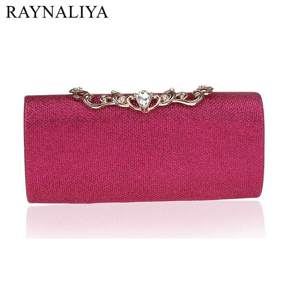 Minaudiere Gold Blue Red Silver 7 Colors Clutch Purses Ladies Wedding Party Handbags Women Day Clutches Bags Smycwl-e0015