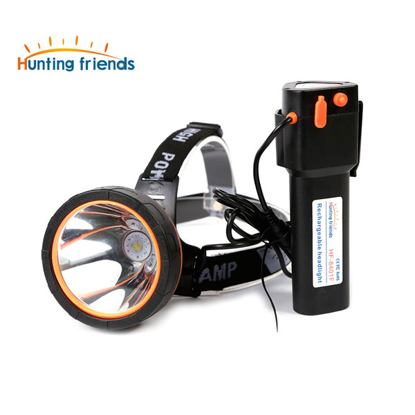 Hunting friends High Power LED Headlamp LED Rechargeable Head Flashlight Waterproof Head Lamp for Fishing Hunting Camping