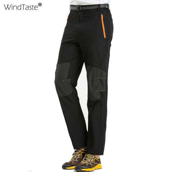 Mens Quick Dry Hiking Pants Breathable Windproof Outdoor Sports Trekking Trousers