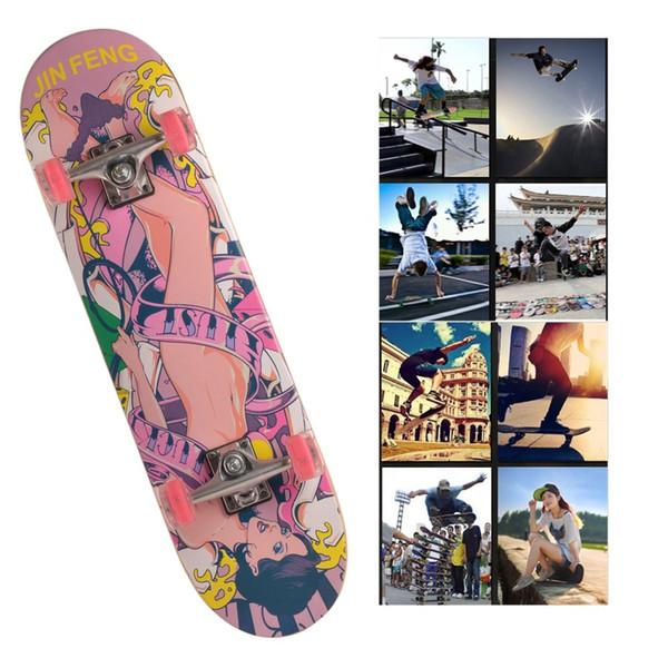 Llega Flash Wheel Niños Skateboard Niños Entretenimiento Flash Skate Scooter Deportes extremos Hoverboard
