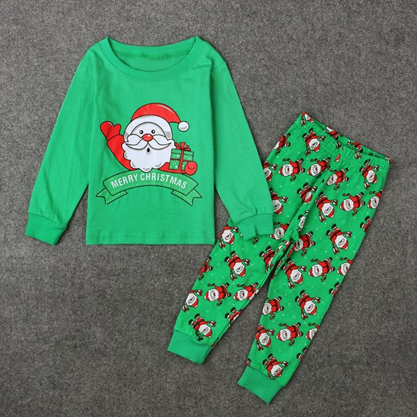 NEW Baby and Girls Christmas hollowen Outfit Kids Boy Girls 3 Pieces set T shirt + Pant + Hat Baby kids Clothing sets 034
