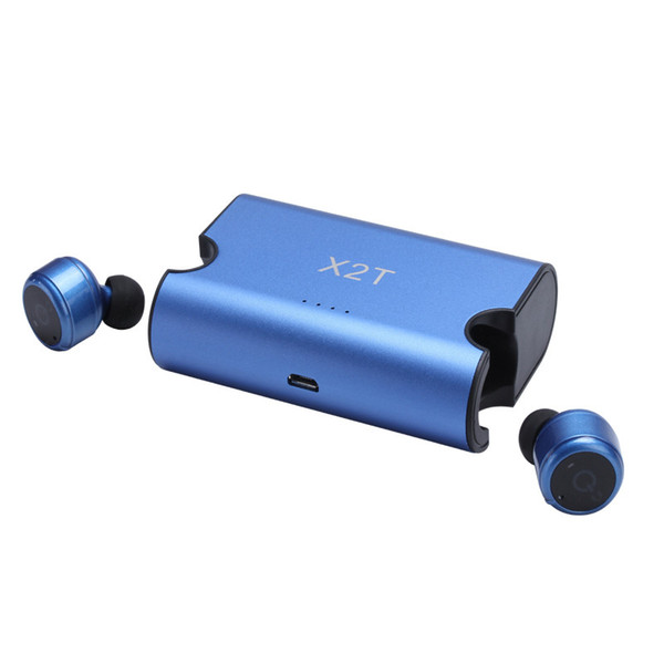 Mini Invisible Twins True Wireless Bluetooth Headset CSR 4.2 Bluetooth Earphones with Magnetic Charging Case Bluetooth Headphone