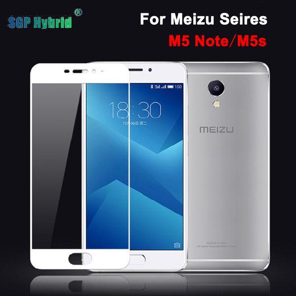 Meizu M 5 M5 Not Ekran Koruyucu için 3D Tam Kapak Temperli Cam koruyucu Film Meizu m5 not 5 Mini M5S Film vaka