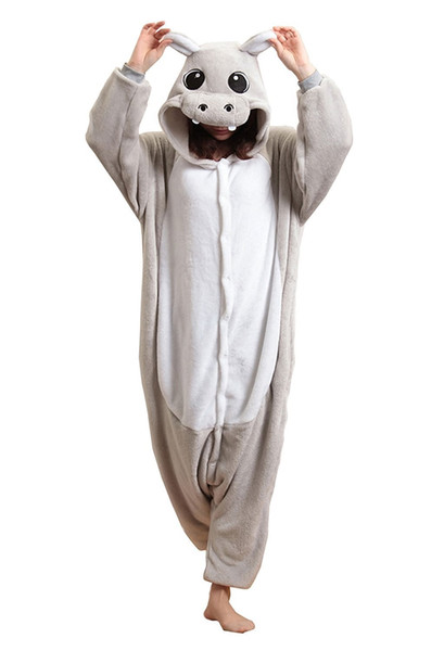 Unisex Adult HalloweenCosplay Sleepsuit Onesie Cosplay Overall Pyjamas For Carnival or Halloween