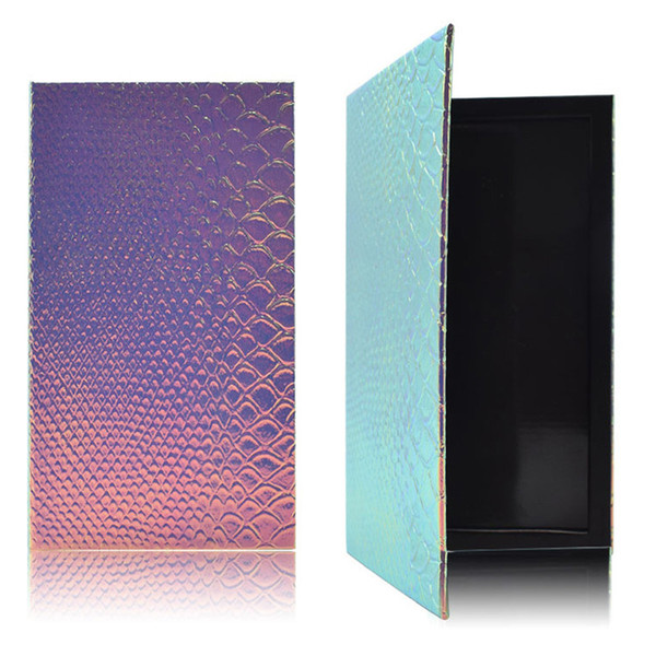 DIY Refill PaletteFish-Scale Patterns Leere Magnetpalette Lidschatten Rouge Lippenstift Lipgloss Puder Fundation New D2
