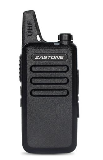 Zastone X6 UHF 400-470 Mhz Rádio Portátil Mini Walkie Talkie Walkie Talkie Ham Trainers Amadores walkie-talkies para a caça de viagem