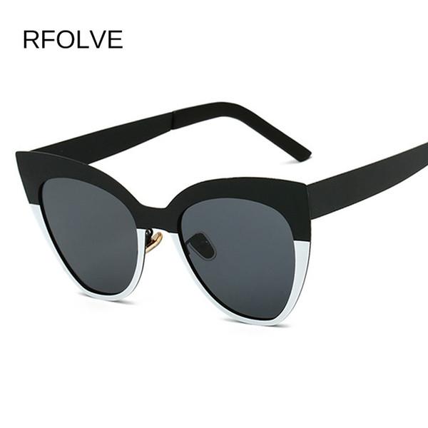 Toptan Kedi Göz Güneş Kadınlar Için 2018 Marka Tasarımcısı Vintage Güneş Gözlükleri Kadınlar UV Gözlük Bayanlar Gözlük Seyahat Shades R8643