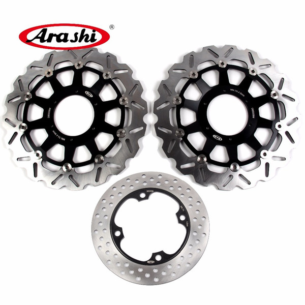 Arashi For HONDA CBR929RR 2000 2001 CNC Front Rear Brake Disc Rotors Kits CBR 929 RR CBR929 CBR954RR CBR 954 RR