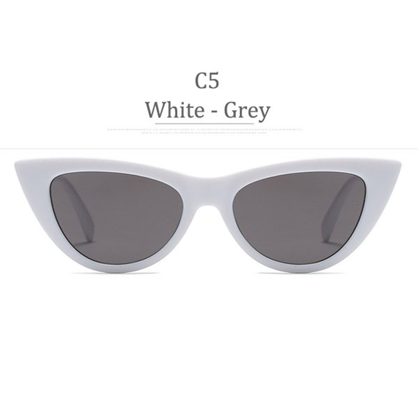Lente C5 White Frame Grey