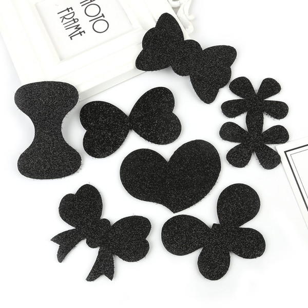 4-6pcs Girls Bangs Magic Paste Posts Hair Sticker Clip Tape Fringe Hair Bang Patch Highly Stick For Women Head bands Headbands