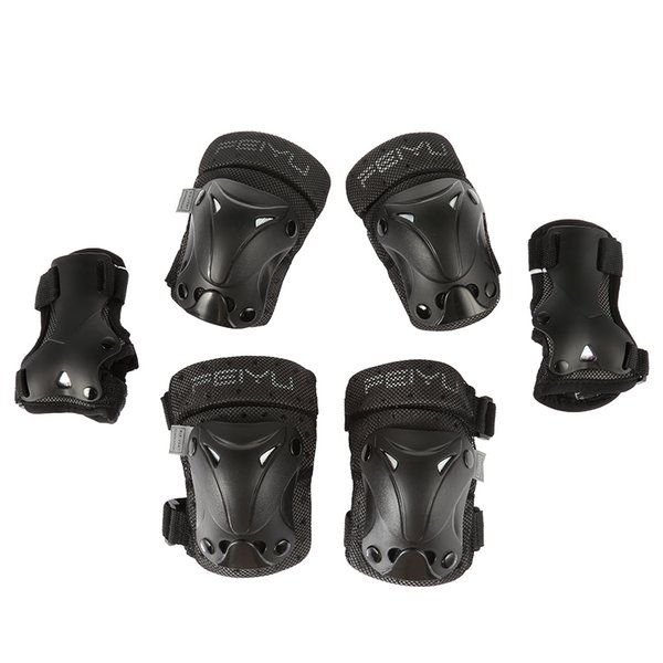 6pcs Sports Roller Skating Elbow Knee Wrist Protective Guard Gear Pad For Skating,Cycling outdoor Sports