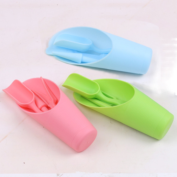 Shovel Cup Scoop Hole Puncher Transplant Device Succulent Plants Digging Seeding Home Gardening Tools Suit Pure Color 1 75ch bb