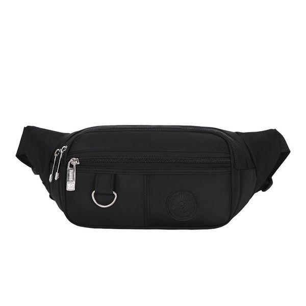 Sac à taille LXFZQ fashion 2018 Sac à bandoulière New Oxford en tissu pour homme Loisirs ceinture sac à main pour femme marsupio uomo