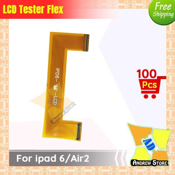 100pcs / lot ipad 6 / air2 무료 배송에 대 한 높은 품질 LCD 화면 디스플레이 테스트 확장자 테스터 플렉스 케이블