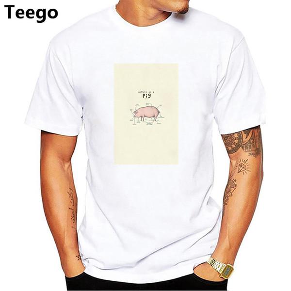 Compre Anatomía De Los Animales Camiseta Pug Perro Pollo Vaca Zorro ...