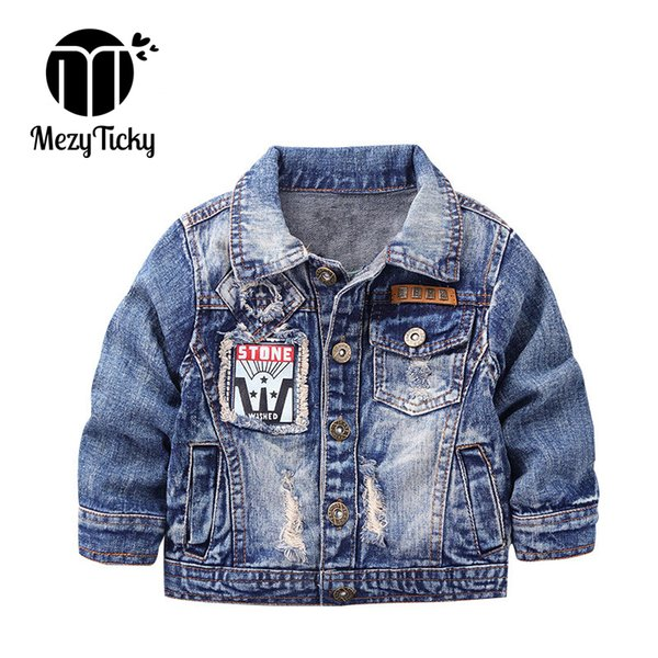 shoes for cheap choose official diversified in packaging MezyTicky Boys Denim Jacket Windbreaker Cool Kids Parka Coat Clothing  Children Winter Outerwear Toddler Canvas Jackets Clothes Boy Rain Jacket ...
