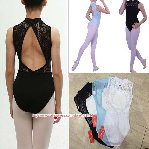 Sleeveless Gymnastics Ballet Leotards for Girls Ballet Costumes Kids Ballerina Bodysuit Dancewear Jumpsuit