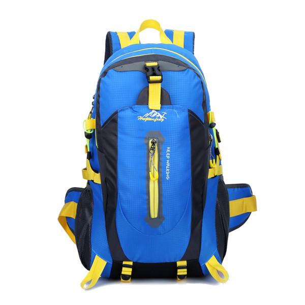 Silanda Sports 40L Nice Mountainteering Waterproof Hiking Backpacks Multi Functional Anti Tear Outdoor Traveling Cycling Climbing Bags