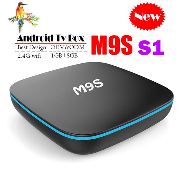 Best M9S S1 Allwinner H3 1G 8G Android 7.1 TV BOX Quad Core Ultra HD H.265 4K Stream Media Player Better Amlogic S905W X96 S905X S912