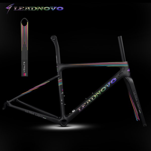 new light weight carbon road frame UD matte glossy BB30 BSA carbon fiber frameset can customized painted