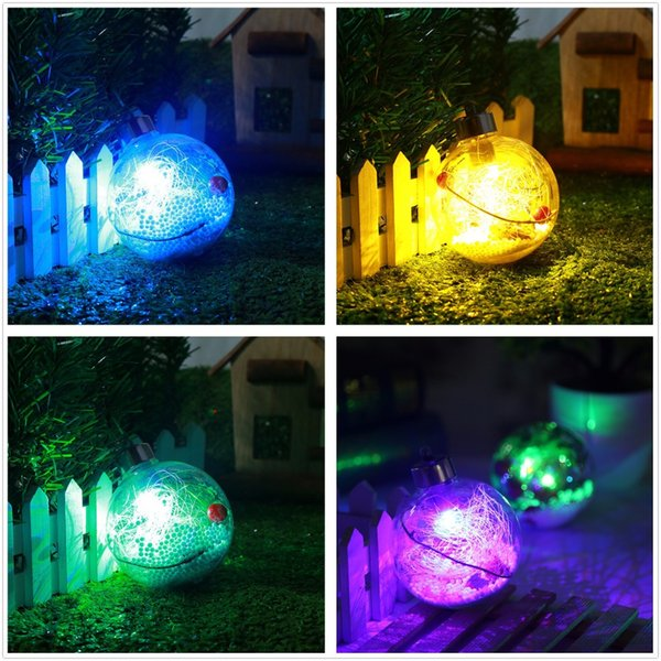2PCS 8cm Christmas Ball Led Light Decorative Lights Battery Operated Wedding Outdoor Patio Garland Decoration 8cm 3.149in