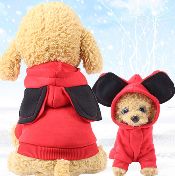 footwear low price sale promo code 2019 Dog Coats Big Ears Puppy Hoodies Jackets Solid Small Dogs Jumpsuit Pet  Cats Sweatershirt Warm Dog Clothes Pet Supplies YW1624 From Bling_world, ...