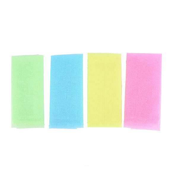 1pc skin cloth polishing towel exfoliating wash cloth japanese body wash towel nylon bath skin