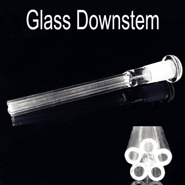 Glass Downstem Diffuser 14mm female to 18mm male Joint Glass Down Stem Adapter for Glass Bongs Water Pipes