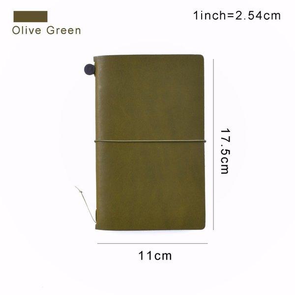 M Olive Green