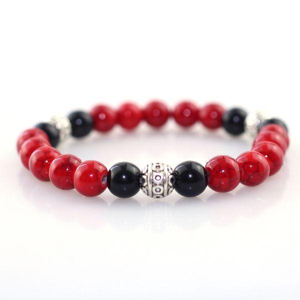 DANJIE 8 мм браслет ювелирные изделия Мужчины Женщины браслеты Boho подарки природные камни бусины Strand йога бисером энергии медитации 2018 Новый