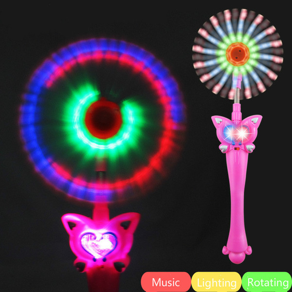 Light Up Toys Kids Magic Wand Multi Color Changing Flash Party Concert Neon Glow Lamp Stick Decoration Lights