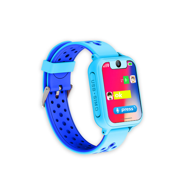 Slimy S6 Smart Watch Baby GPS 1.54 Inch Touch Screen Smartwatch Phone SOS GPRS Location Camera Kids Clock Hours Gift