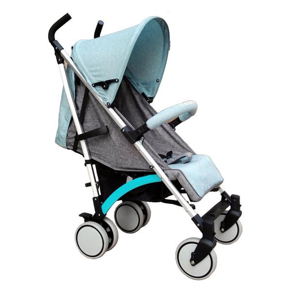 Poussette de bébé pliante en tissu de tissu en alliage d'aluminiumPortable Offre spéciale enfants assis et chariot de transport de parapluie bébé couché