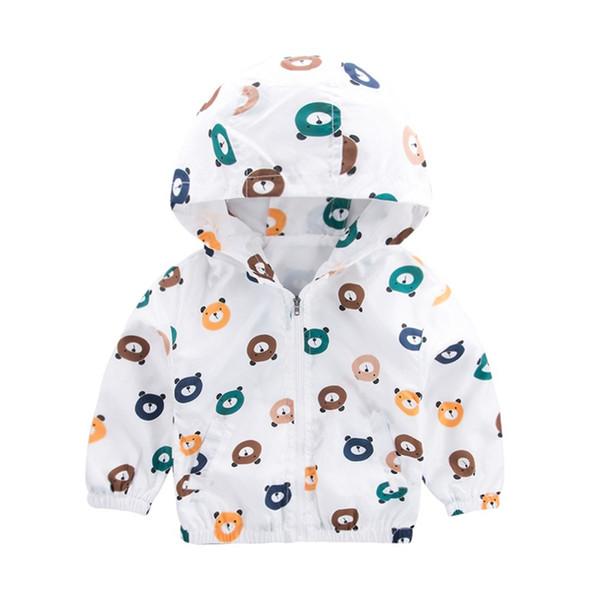 Cute Spring Children Coat Autunno Bambini Giacca Ragazzi Capispalla Cappotti Active Boy Windbreaker Abbigliamento per neonati Abbigliamento