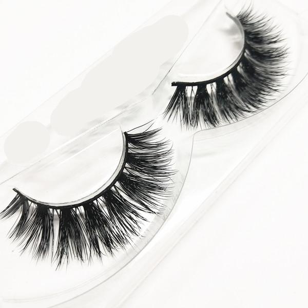 seashine fast shipment 3D real mink eyelash mink lashes natural dramatic volume eyelashes extension false eyelashes free shipping