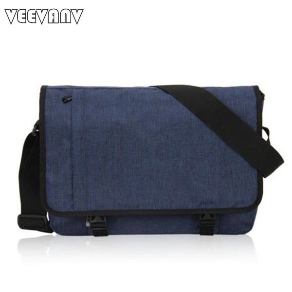 2017 Designer Postman Men's Buisness Crossbody Bags Attache Laptop Case Office Briefcase Men Messenger Bags Canvas Shoulder