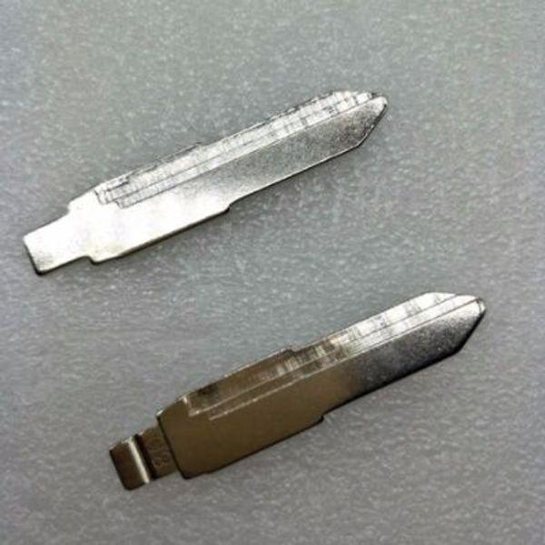 10Pcs/lot Best Universal Flip Remote Key Blade NO.80 Car Key Blank For Vauxhall Opel