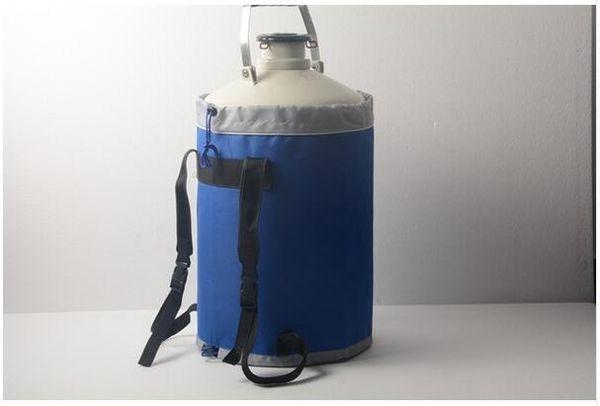 Recipiente criogênico estático LN2 do tanque de armazenamento do nitrogênio LN2 20L Dewar