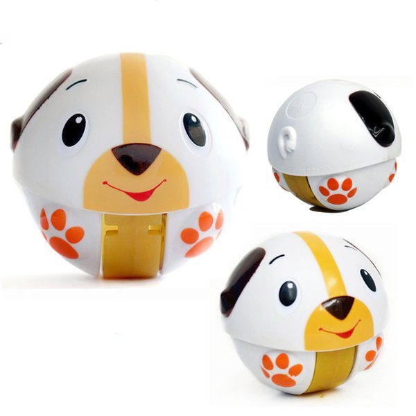 Baby Toys Tumbler Children's Meng Pet Run Music Can Slide Baby Puzzle Music Toys 0-12 Months