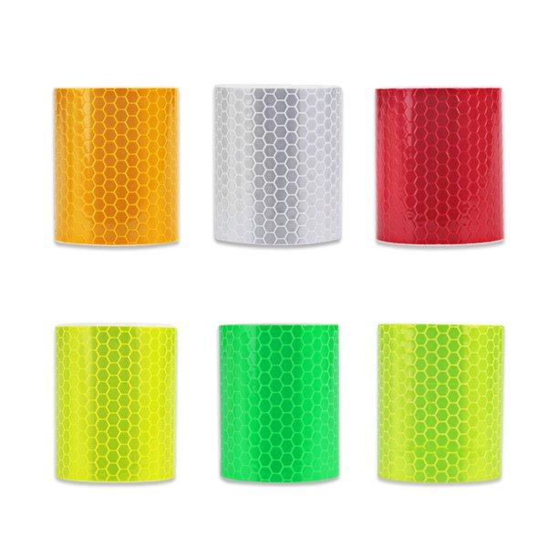 Car Reflective Tape Decoration Stickers Car Automobiles Warning Safety Tape Film Auto Reflector Sticker on Car Styling 5cm*300cm