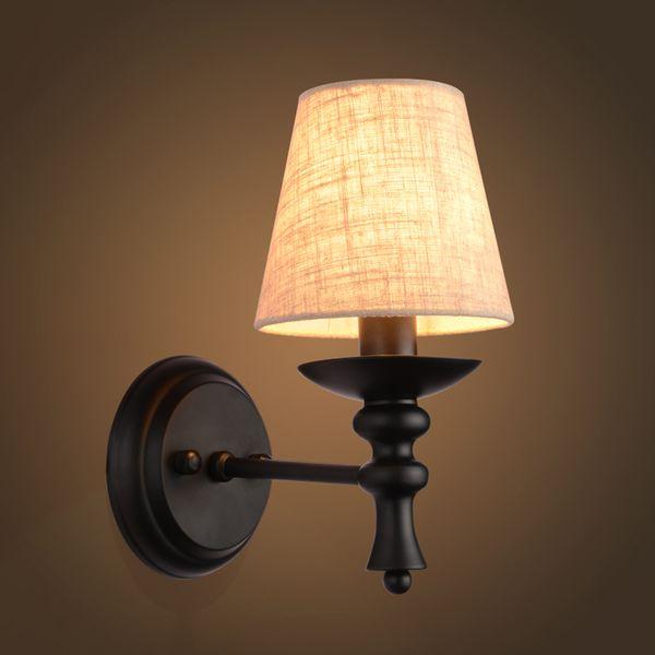 Acquista Lampada Da Parete Applique Scale Apparecchio Illuminazione A LED  Apparecchio E14 Lampadina Camera Da Letto Decor Bagno Illuminazione Da ...