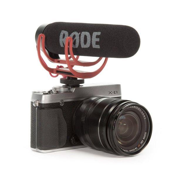 Rode VideoMic Go Video On-Camera-Mount Rycote Lyre-Interview-Mikrofon für Canon Nikon Sony DSLR-Kamera-Mobiltelefon