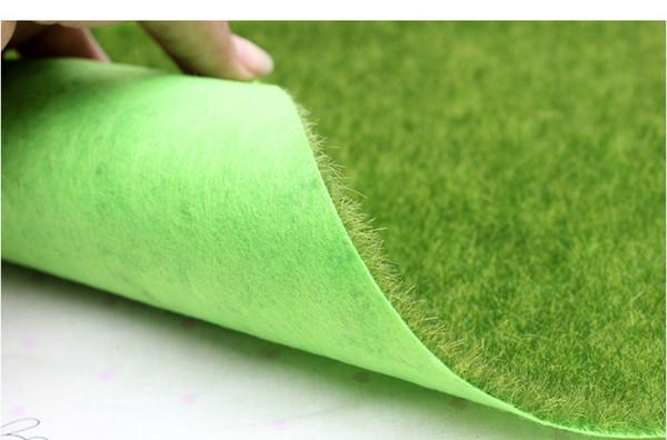 Christmas Moss Carpet.2019 30 30cm Piece High Quality Artificial Plastic Plant Small Moss Lawns Fake Grass Carpet Christmas Miniature Garden Home Decor From