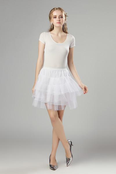 2019 Retro Sottogonna Swing Vintage Petticoat Fancy Net Skirt Rockabilly Tutu (4 colori a scelta) Spedizione gratuita 3 strati