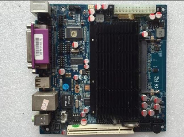 ITX-M42X61E D425 Mini-ITX Industrial Motherboard 6COM Dual Graphics Fanless Main Board 100% Tested Work Well