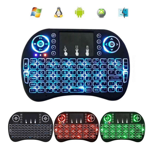 Mini Wireless 2 4Ghz Keyboard Backlit,Three Light Switch Perfect For  Raspberry Pi PC / Android Bd #289573 M Audio Keyboard M Audio Midi Keyboard  From