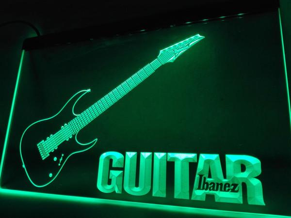 LF087g- Guitar LED Neon Light Sign