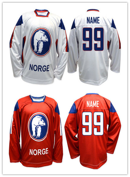2019 Mens Vintage Team Norway White Red Ice Hockey Jersey Embroidery  Stitched Customize Any Number And Name From Hezongming77, $41 62 |  DHgate Com